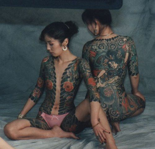 Japanese Gang Yakuza Full Body Tattoo Meanings (103)