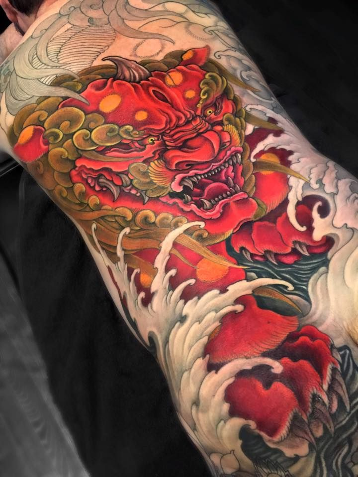 Japanese Gang Yakuza Full Body Tattoo Meanings (105)