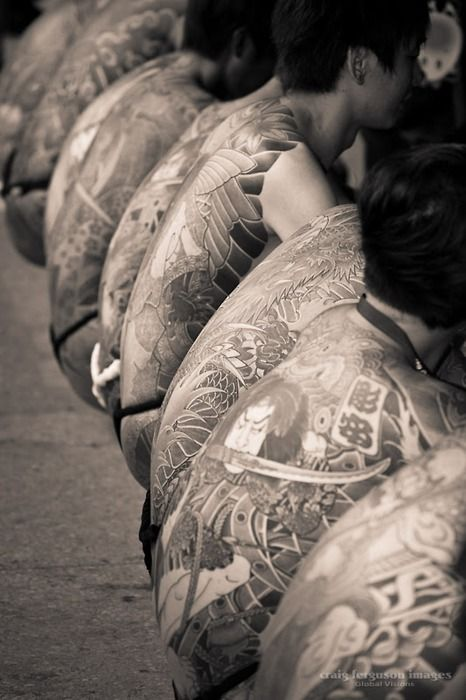 Japanese Gang Yakuza Full Body Tattoo Meanings (107)