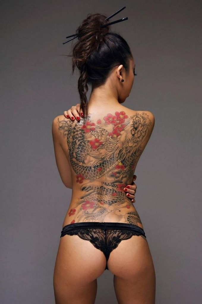 Japanese Gang Yakuza Full Body Tattoo Meanings (114)