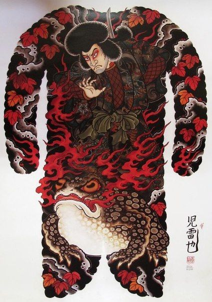 Japanese Gang Yakuza Full Body Tattoo Meanings (119)