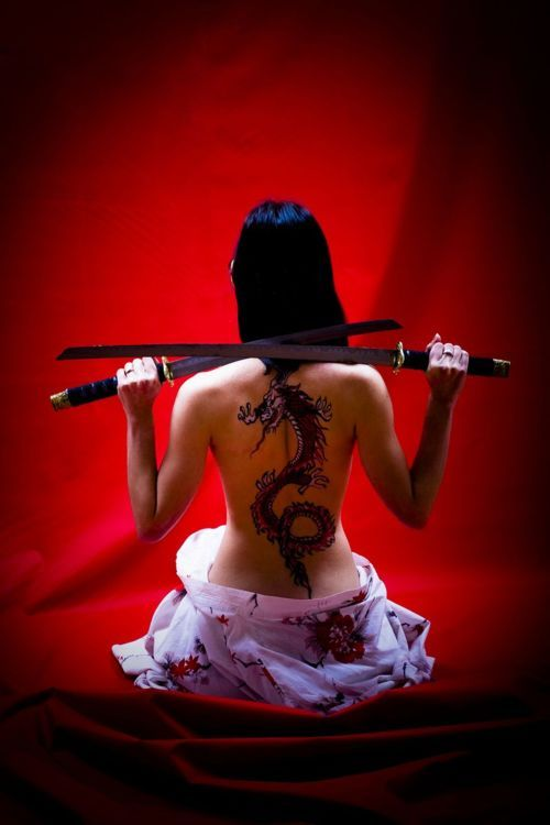Japanese Gang Yakuza Full Body Tattoo Meanings (122)