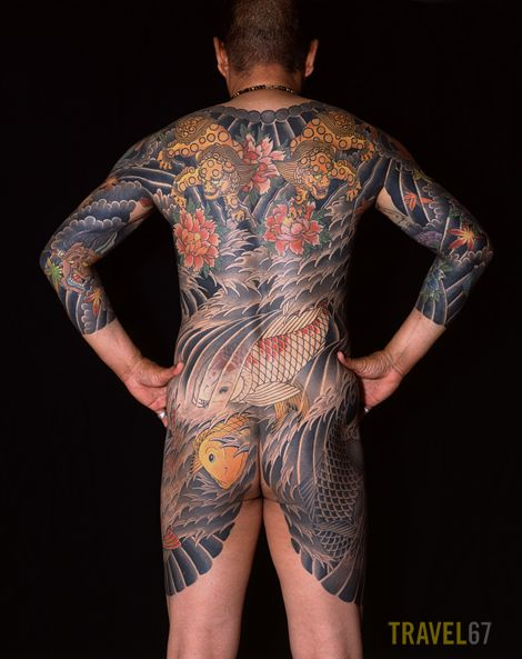 Japanese Gang Yakuza Full Body Tattoo Meanings (139)