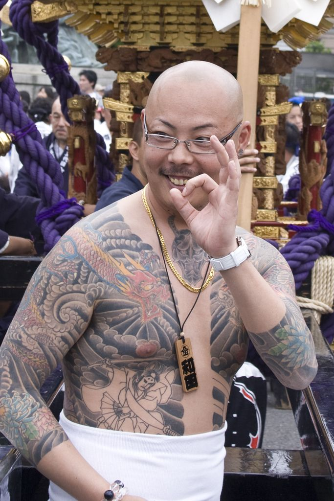 Japanese Gang Yakuza Full Body Tattoo Meanings (141)