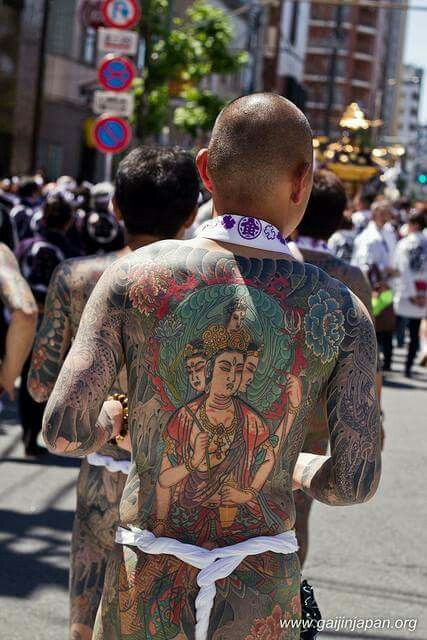 Japanese Gang Yakuza Full Body Tattoo Meanings (153)