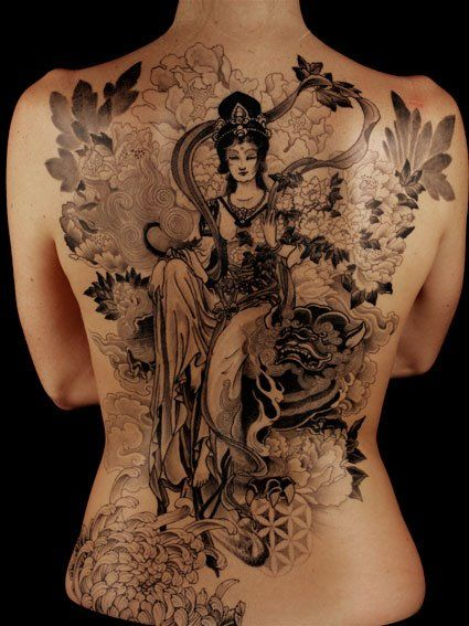 Japanese Gang Yakuza Full Body Tattoo Meanings (155)