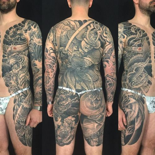 Japanese Gang Yakuza Full Body Tattoo Meanings (156)