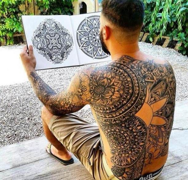 Japanese Gang Yakuza Full Body Tattoo Meanings (158)