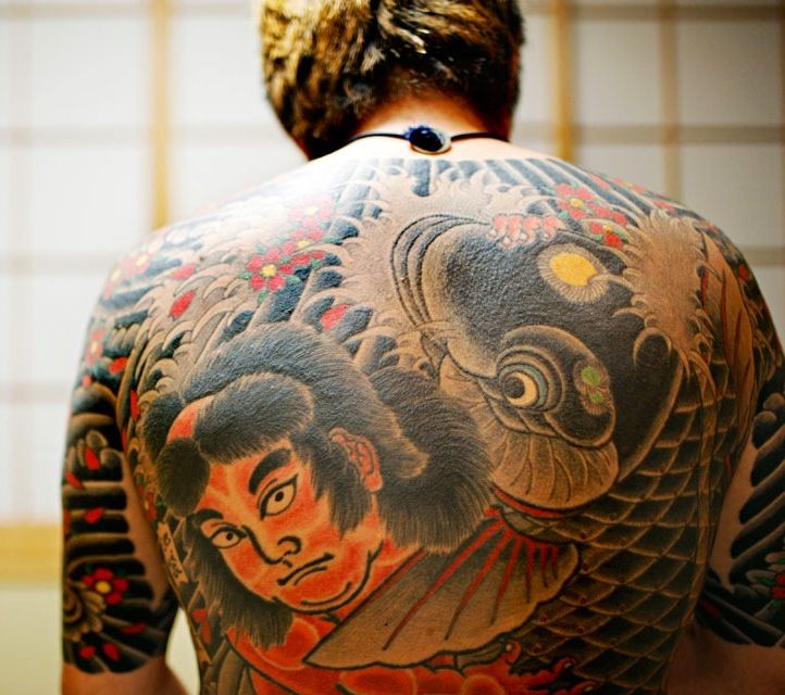 Japanese Gang Yakuza Full Body Tattoo Meanings (16)