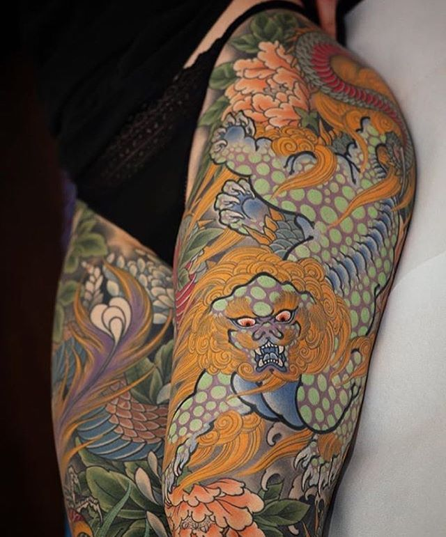 Japanese Gang Yakuza Full Body Tattoo Meanings (170)