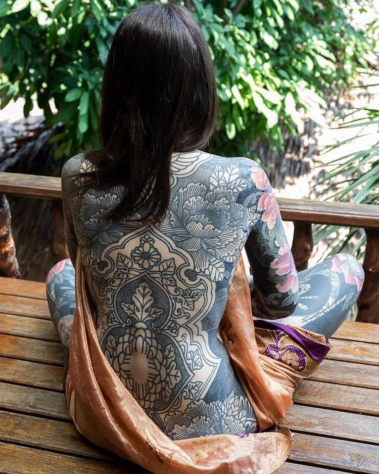 Japanese Gang Yakuza Full Body Tattoo Meanings (177)