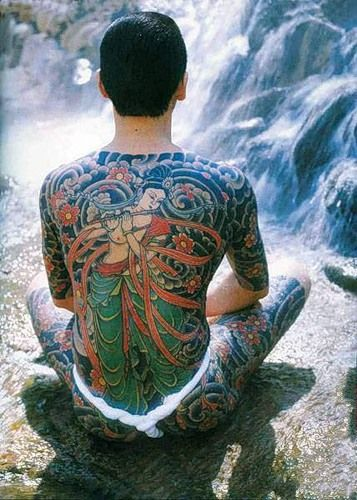 Japanese Gang Yakuza Full Body Tattoo Meanings (185)