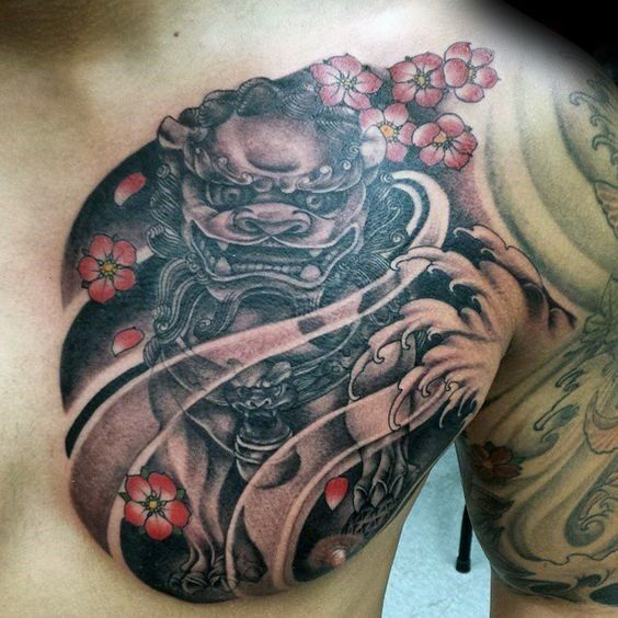 Japanese Gang Yakuza Full Body Tattoo Meanings (191)