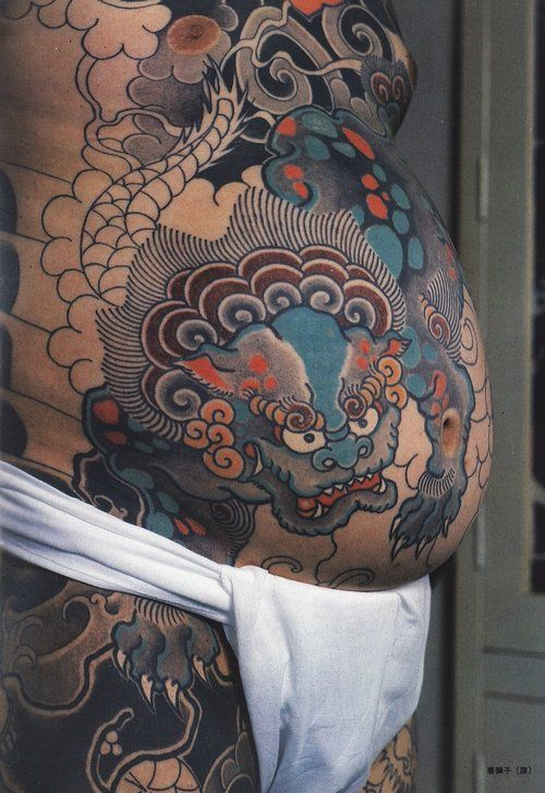 Japanese Gang Yakuza Full Body Tattoo Meanings (193)