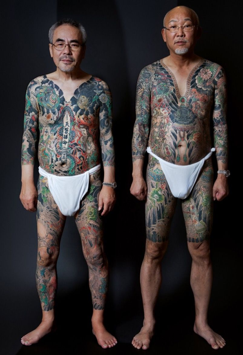 Japanese Gang Yakuza Full Body Tattoo Meanings (212)