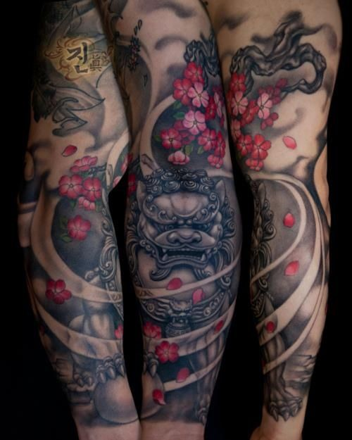 Japanese Gang Yakuza Full Body Tattoo Meanings (217)