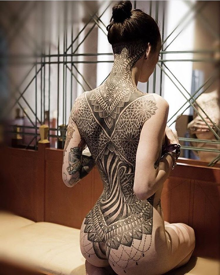 Japanese Gang Yakuza Full Body Tattoo Meanings (236)