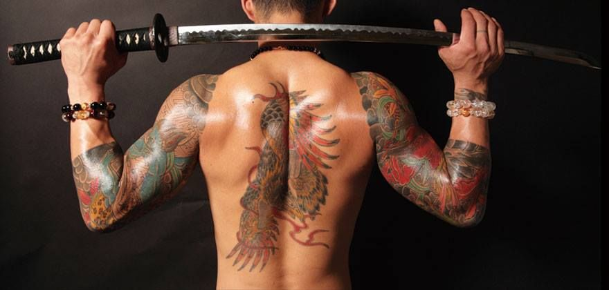 Japanese Gang Yakuza Full Body Tattoo Meanings (276)