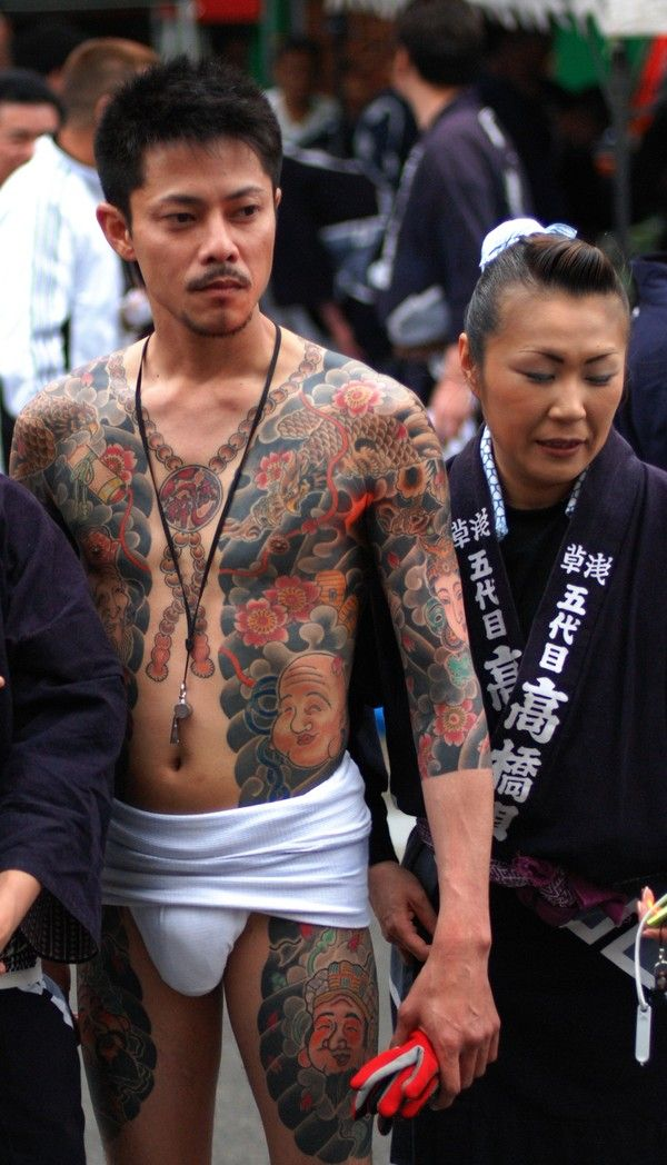 Japanese Gang Yakuza Full Body Tattoo Meanings (285)