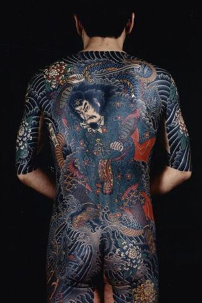 Japanese Gang Yakuza Full Body Tattoo Meanings (286)
