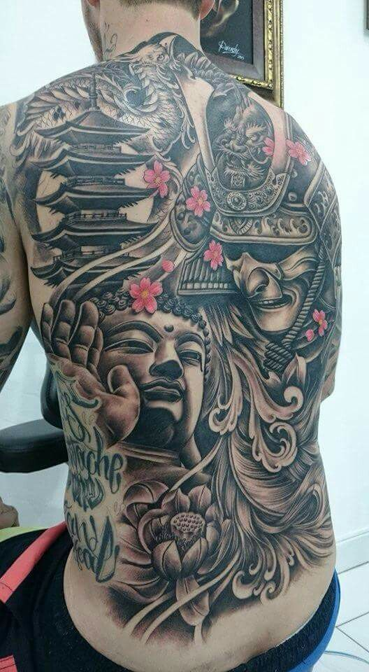 Japanese Gang Yakuza Full Body Tattoo Meanings (289)