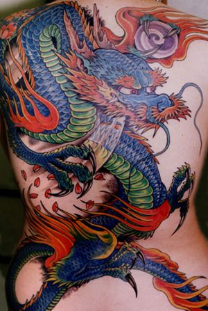 Japanese Gang Yakuza Full Body Tattoo Meanings (295)