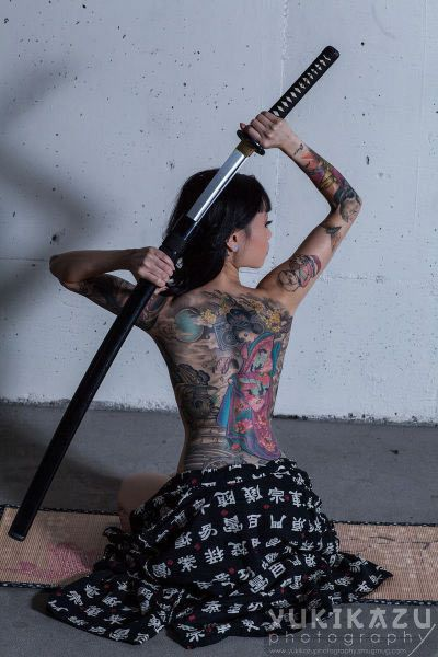 Japanese Gang Yakuza Full Body Tattoo Meanings (300)