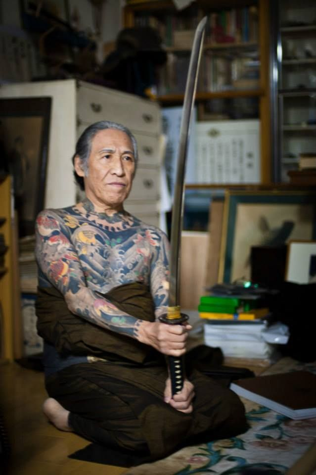 Japanese Gang Yakuza Full Body Tattoo Meanings (319)