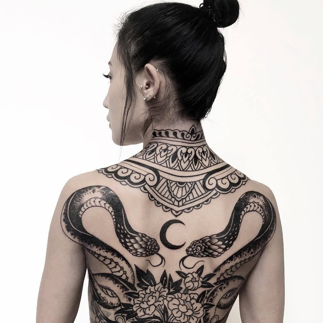 Japanese Gang Yakuza Full Body Tattoo Meanings (50)