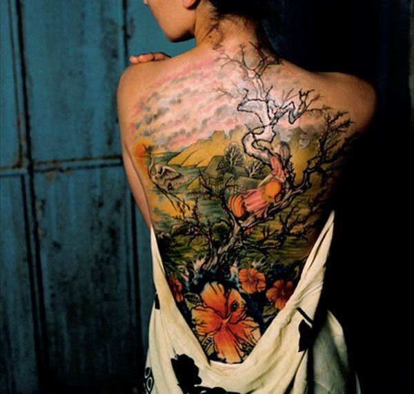 Japanese Gang Yakuza Full Body Tattoo Meanings (67)
