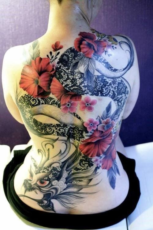 Japanese Gang Yakuza Full Body Tattoo Meanings (71)