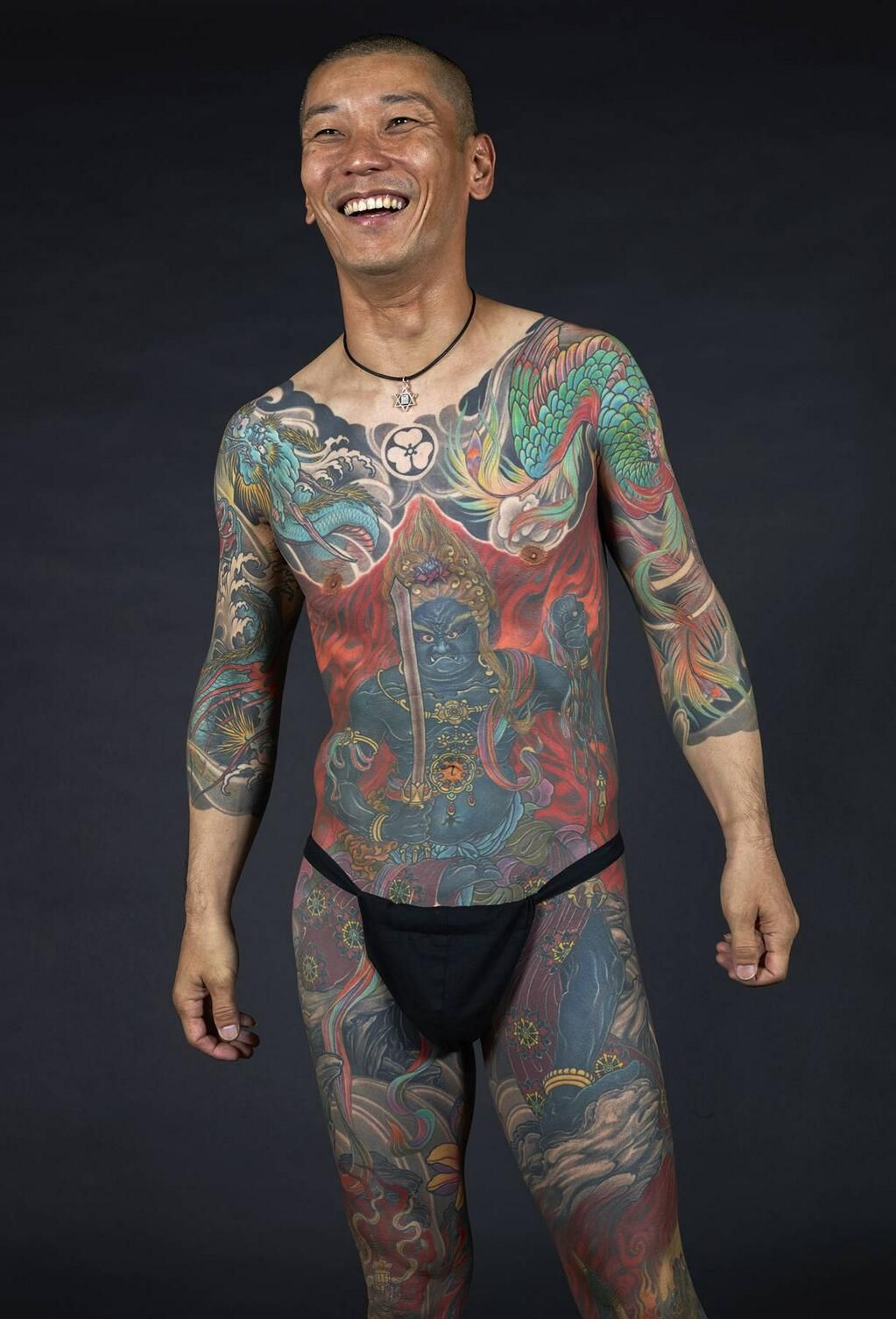 Japanese Gang Yakuza Full Body Tattoo Meanings (73)