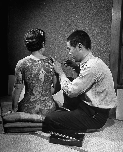 Japanese Gang Yakuza Full Body Tattoo Meanings (88)