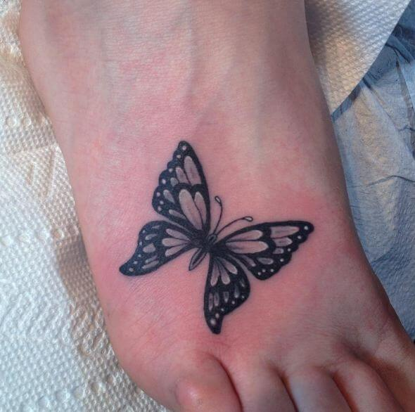 Tattoos For Girls On Foot