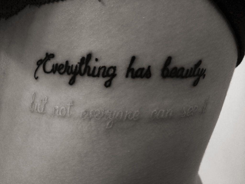 Tattoos Schriftzüge Mit Bedeutung (105)
