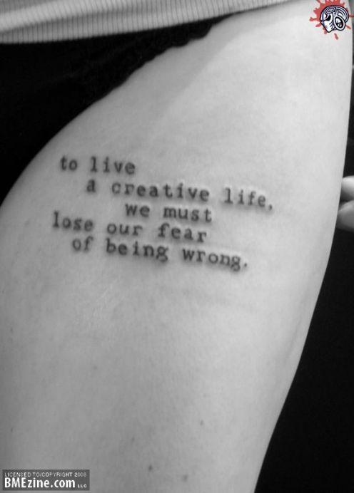 Tattoos Schriftzüge Mit Bedeutung (107)