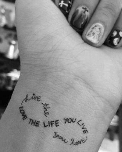 Tattoos Schriftzüge Mit Bedeutung (117)