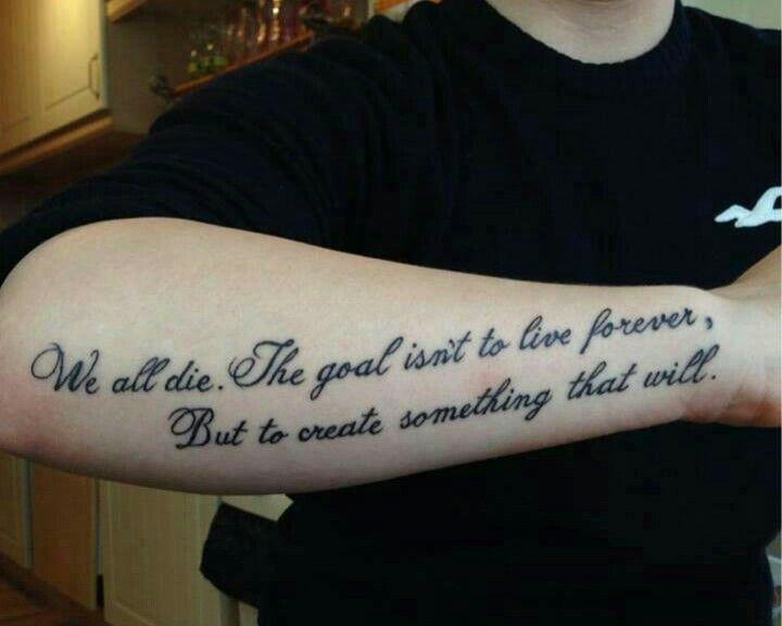 Tattoos Schriftzüge Mit Bedeutung (139)