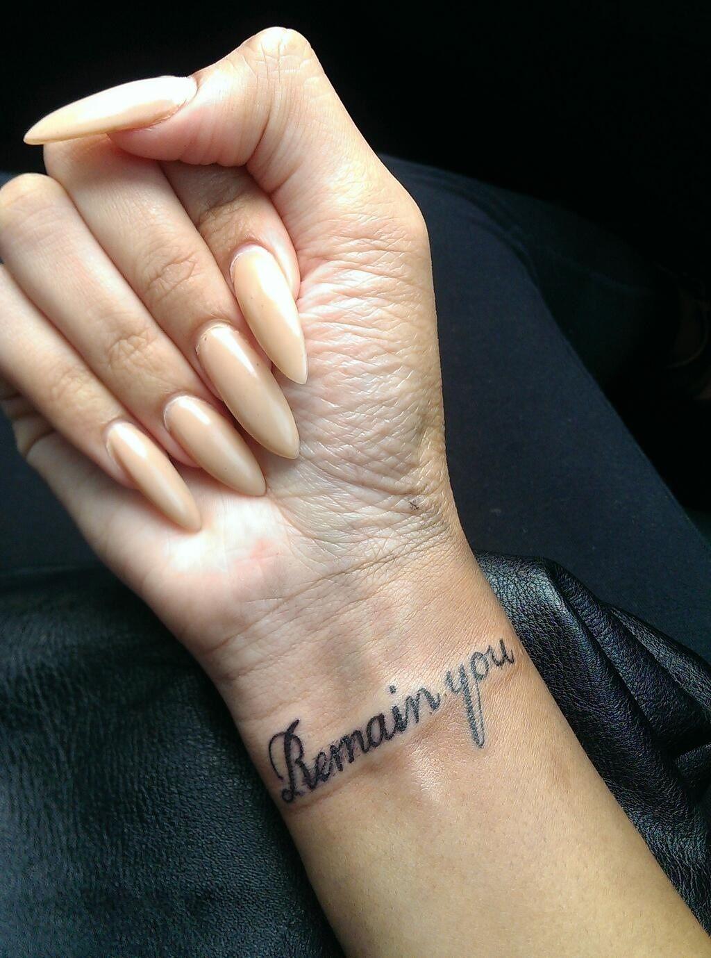 Tattoos Schriftzüge Mit Bedeutung (151)