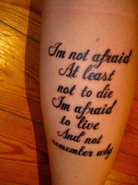 Tattoos Schriftzüge Mit Bedeutung (158)