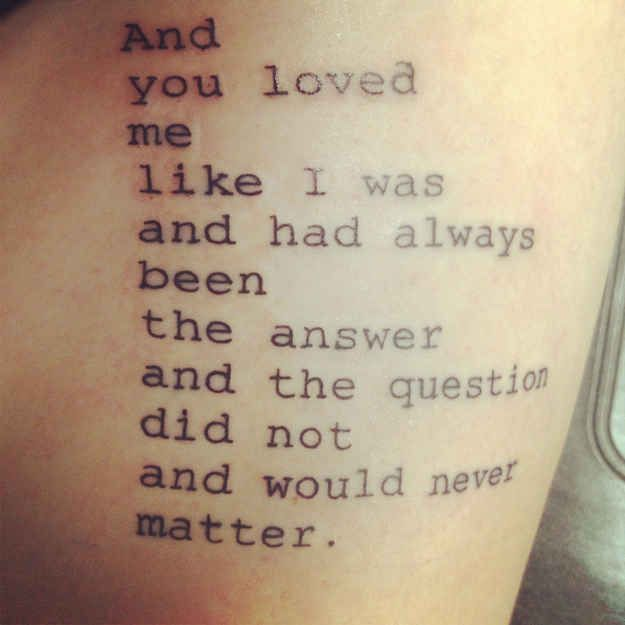 Tattoos Schriftzüge Mit Bedeutung (159)