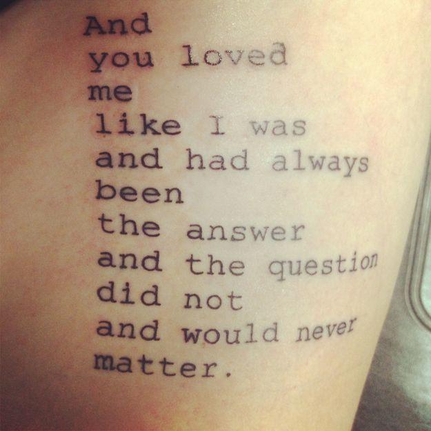 Tattoos Schriftzüge Mit Bedeutung (204)