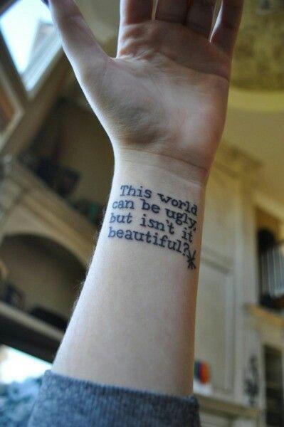 Tattoos Schriftzüge Mit Bedeutung (220)