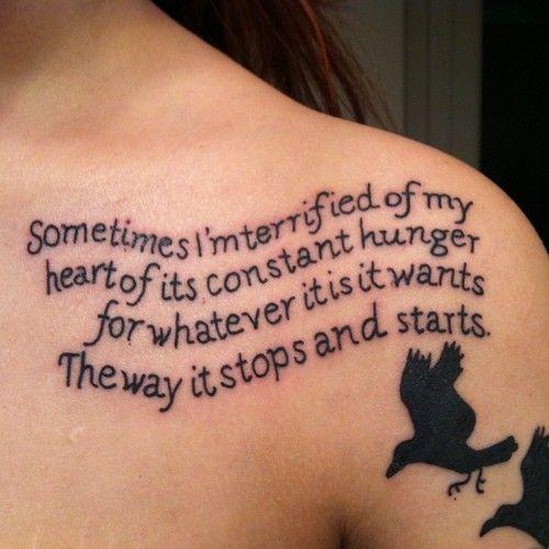 Tattoos Schriftzüge Mit Bedeutung (222)
