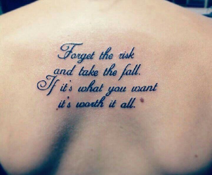 Tattoos Schriftzüge Mit Bedeutung (231)