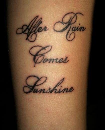 Tattoos Schriftzüge Mit Bedeutung (245)