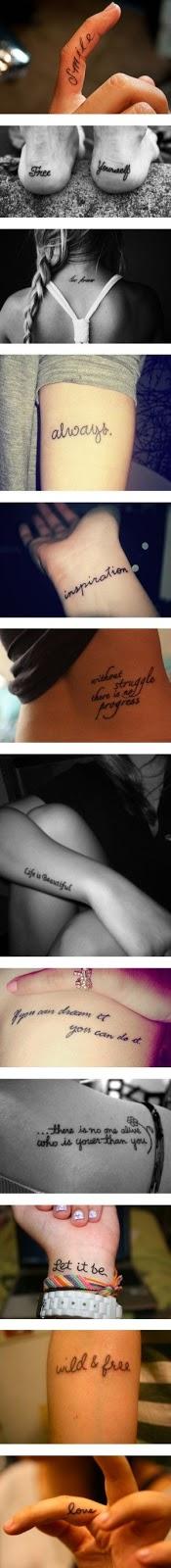 Tattoos Schriftzüge Mit Bedeutung (261)