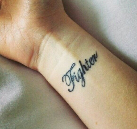 Tattoos Schriftzüge Mit Bedeutung (266)
