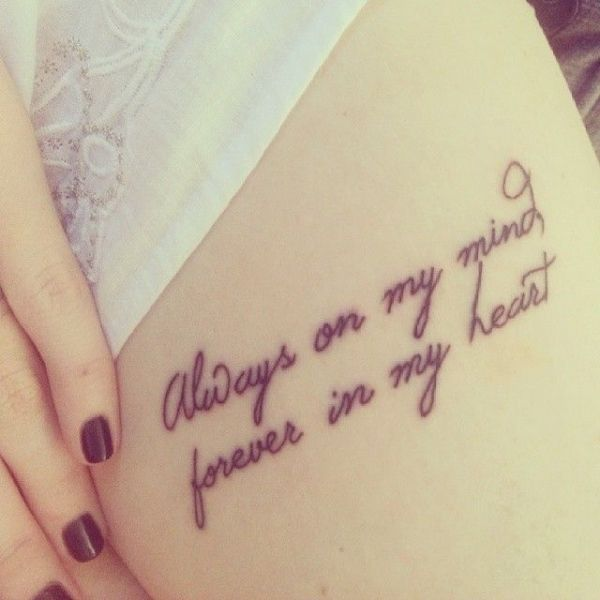 Tattoos Schriftzüge Mit Bedeutung (277)