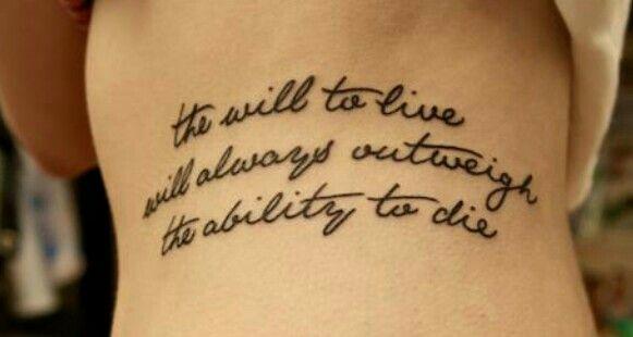 Tattoos Schriftzüge Mit Bedeutung (310)